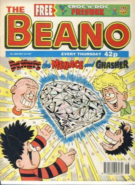 1997 May 3rd BEANO vintage comic Good Gift Christmas Present Birthday Anniversary ref236 a pre-owned item in very good read condition.
