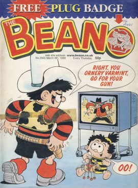 1999 March 6th BEANO vintage comic Good Gift Christmas Present Birthday Anniversary ref238 a pre-owned item in very good read condition.