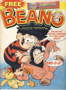 1999 April 3rd BEANO vintage comic Good Gift Christmas Present Birthday Anniversary ref241 a pre-owned item in very good read condition.