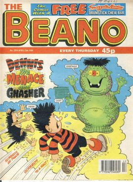 1998 April 25th BEANO vintage comic Good Gift Christmas Present Birthday Anniversary ref242 a pre-owned item in very good read condition.