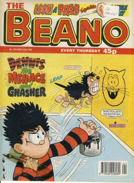 1998 May 23rd BEANO vintage comic Good Gift Christmas Present Birthday Anniversary ref242b a pre-owned item in very good read condition.