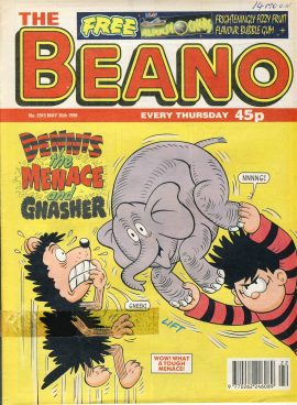 1998 May 30th BEANO vintage comic Good Gift Christmas Present Birthday Anniversary ref245 a pre-owned item in very good read condition.