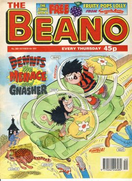 1997 October 4th BEANO vintage comic Good Gift Christmas Present Birthday Anniversary ref248 a pre-owned item in very good read condition.