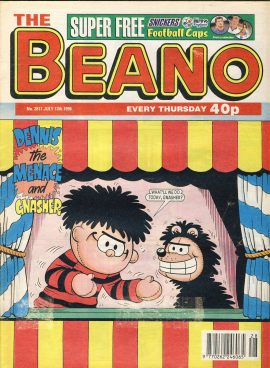 1996 July 13th BEANO vintage comic Good Gift Christmas Present Birthday Anniversary ref251 a pre-owned item in very good read condition.