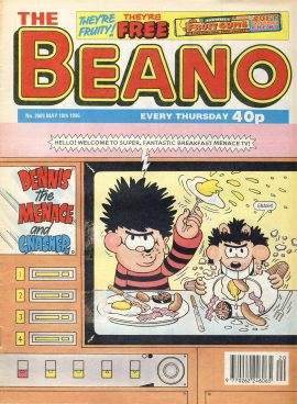 1996 May 18th BEANO vintage comic Good Gift Christmas Present Birthday Anniversary ref253 a pre-owned item in very good read condition.