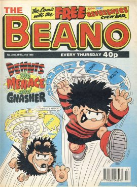 1996 April 27th BEANO vintage comic Good Gift Christmas Present Birthday Anniversary ref254 a pre-owned item in very good read condition.