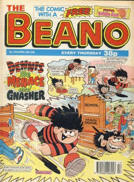1995 April 29th BEANO vintage comic Good Gift Christmas Present Birthday Anniversary ref254 a pre-owned item in very good read condition.