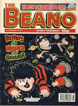 1998 January 17th BEANO vintage comic Good Gift Christmas Present Birthday Anniversary ref266 a pre-owned item in very good read condition.