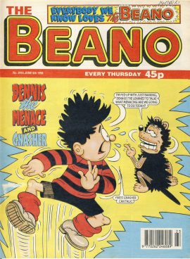1998 June 6th BEANO vintage comic Good Gift Christmas Present Birthday Anniversary ref272 a pre-owned item in very good read condition.