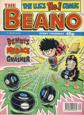 1998 July 25th BEANO vintage comic Good Gift Christmas Present Birthday Anniversary ref275 a pre-owned item in very good read condition.