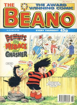 1998 May 2nd BEANO vintage comic Good Gift Christmas Present Birthday Anniversary ref293a pre-owned item in good read condition.