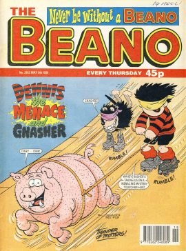 1998 May 9th BEANO vintage comic Good Gift Christmas Present Birthday Anniversary ref294a pre-owned item in good read condition.