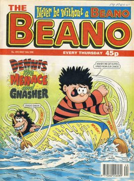 1998 May 16th BEANO vintage comic Good Gift Christmas Present Birthday Anniversary ref295a pre-owned item in good read condition.