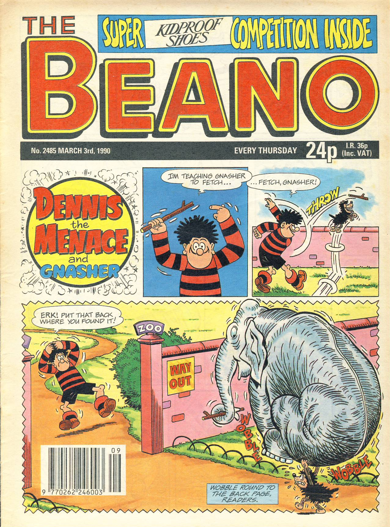 1990 March 3rd BEANO vintage comic Good Gift Christmas Present Birthday Anniversary ref297a pre-owned item in good read condition.