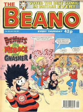 1997 July 19th BEANO vintage comic Good Gift Christmas Present Birthday Anniversary ref318a pre-owned item in good read condition.