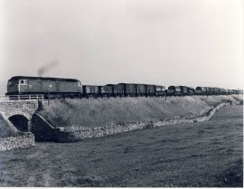 1981 Settle Carlisle 47074 Freight Train Photo refSC121 Measure approx 6.5 x 8.5 inches / 16cm x 21cm - an original 'W.A.Sharman' black and white photographic print pre-owned item in very good condition. Details on reverse.