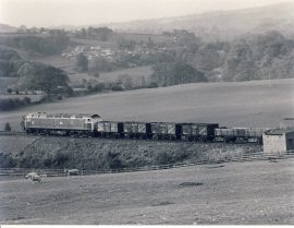 ARMATHWAITE 1982 Train Photo 47.331 with Freight refSC1130 Measure approx 6.5 x 8.5 inches / 16cm x 21cm - an original 'W.A.Sharman' black and white photographic print pre-owned item in very good condition. Details on reverse.