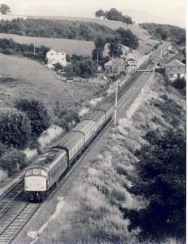 1982 CULGAITH 45.065 heading north Train Photo refSC1148 Measure approx 6.5 x 8.5 inches / 16cm x 21cm - an original 'W.A.Sharman' black and white photographic print pre-owned item in very good condition. Details on reverse.