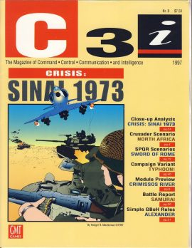 C3i 1997 magazine of Command Control Communication and Intelligence  CRISIS: SINAI 1973 ref101741 50 page publication a pre-owned item in very good condition.