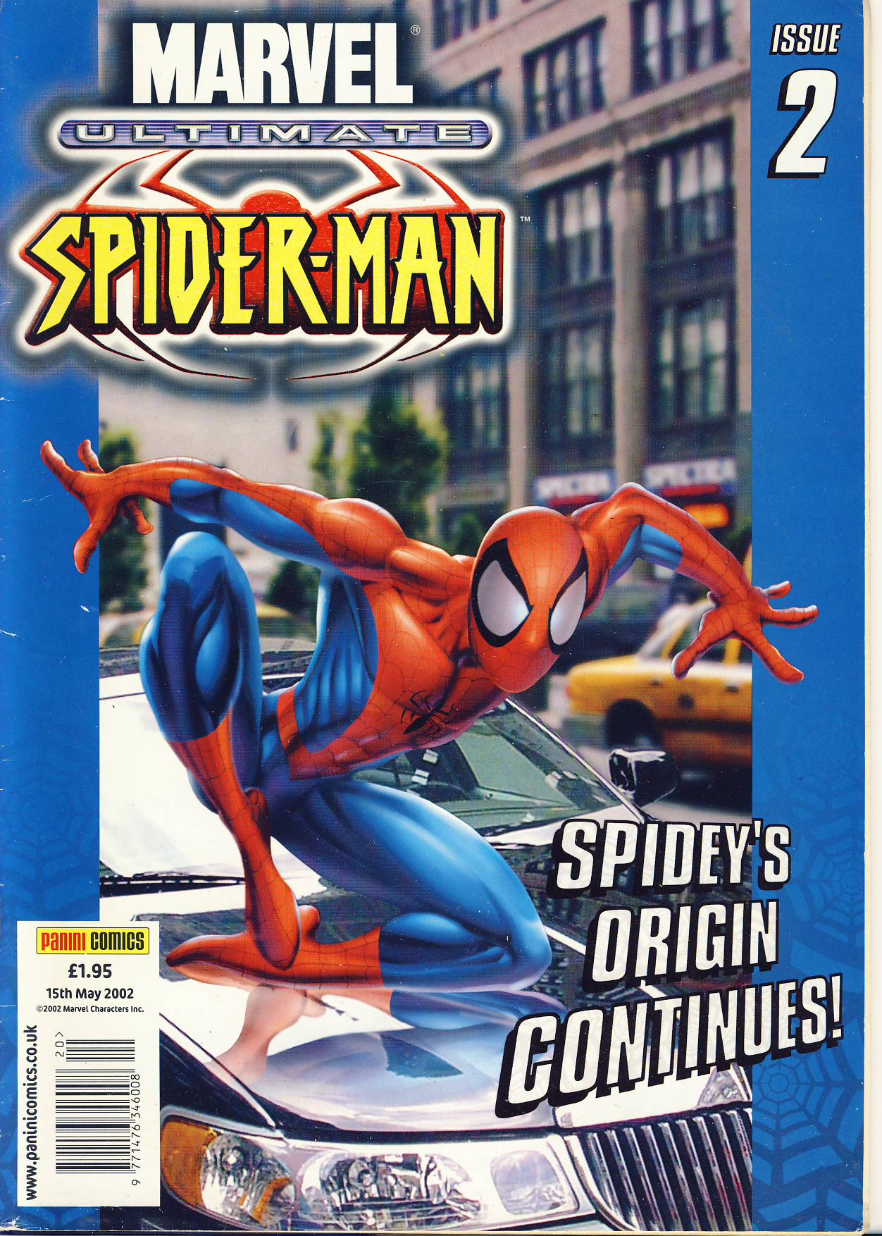 Marvel Ultimate Spider-Man Issue 2 2002 graphic novel comic ref101744 SPIDEY'S ORIGIN CONTINUES! - a pre-owned item in read condition.