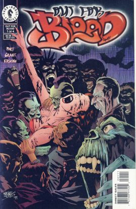 Out for Blood #1 1999 Dark Horse Comic ref101755 a pre-owned item in very good condition.