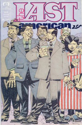 The Last American Vol.1 #3 1991 EPIC COMIC ref101760 a pre-owned item in good condition.