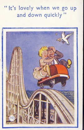 Passed by British Board of Postcard Censors. Coastal Cards Ltd Clacton on Sea. Pre-owned unused condition.