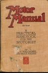 1948 Motor Manual 33rd Edition Practical Handbook for the Motorist by Willoughby ref123 (1)