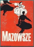 1962 Royal Albert Hall Programme MAZOWSZE Polish Song  and  Dance Company ADVERTS