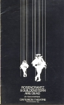 1976 Criterion Theatre programme Rosencrantz Guildenstern are Dead r184
