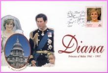 Norfolk Island 28 April 1998 Diana Princess of Wales FDI stamp cover refDA9