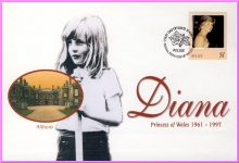 BELIZE Diana Princess of Wales 31st March 1998 FDI stamp cover refDA73