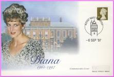 6th Sept 1997 Diana Princess of Wales Mercury cover CARDIFF refDA104
