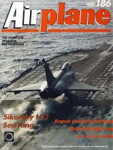 Airplane Magazine part 186 Sikorsky H-3 Sea King French carrier BRISTOL FREIGHTER ORBIS