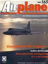 Airplane Magazine part 165 ORBIS Consolidated PBY Catalina INDIAN AIRLINES Me323
