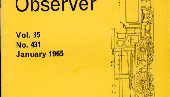 New Listings: Railway Observer 1960s vintage magazines for sale