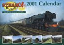Steam World 2001 CALENDAR photography by Keith Pirt ref101514