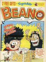 1998 October 3rd BEANO vintage comic Good Gift Christmas Present Birthday Anniversary ref243