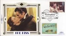 1995 BS17 THE KISS Clark Gable Vivien Leigh Ltd Edition Benham small silk cover shs rcd028