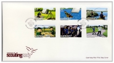 FO1004 2007 Centenary of Scouting first day cover Guernsey Post FDC