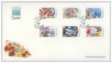 FO1014 2008 Bailiwick of Guernsey Post FDC Ramsar SARK first day cover