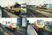 4 x GB UK Train Railway Photos ref004