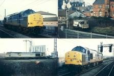 4 x GB UK Train Railway Photos ref020