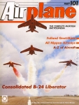 Airplane Magazine part 101 Consolidated B-24 Liberator, Folland Gnat ORBIS