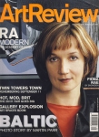Art Review Magazine Sept 2002 Twin Towers Photo exhibition,Fiona Rae,BALTIC MILL