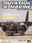Aviation and Marine International No51 April 1978 RARE MAGAZINE Italian Aerospace