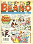 1990 December 29th BEANO vintage comic Good Gift Christmas Present Birthday Anniversary ref17