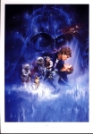 SFX LARGE PRINT of Film Poster THE EMPIRE STRIKES BACK measures 21x 29cm approx refS2-033