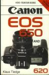 Canon EOS 650 & 620 Klaus Tiedge 1989 Paperback Book refS4