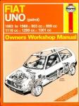 HAYNES 923 FIAT UNO (petrol) Owners Workshop Manual 1988 HB Book ref102 (1)